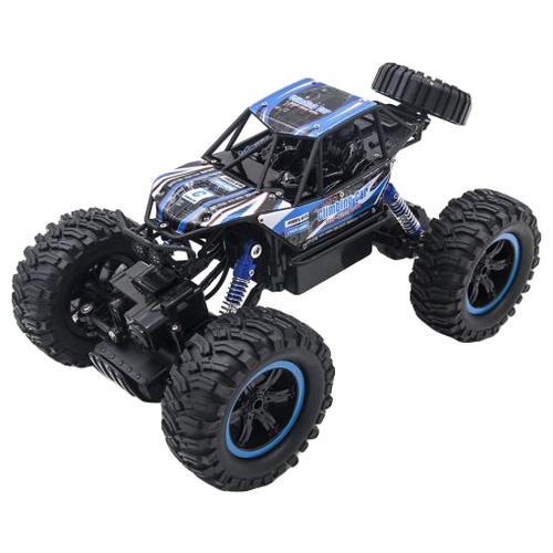 Купить Внедорожник MZ Climbing Car (MZ-2838) 1:14 29.5 см черный/синий, Радиоуправляемые игрушки