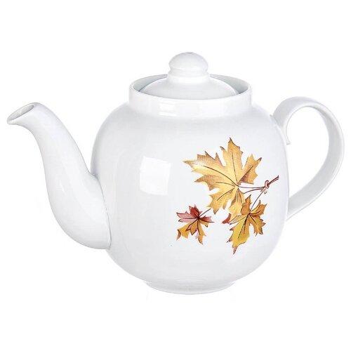 Дулёвский фарфор Заварочный чайник Янтарь 1,4 л клен эконом