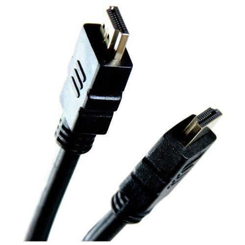 Фото - Кабель Aopen HDMI - HDMI (ACG711) 1.8 м черный кабель aopen hdmi hdmi acg511d 5 м черный