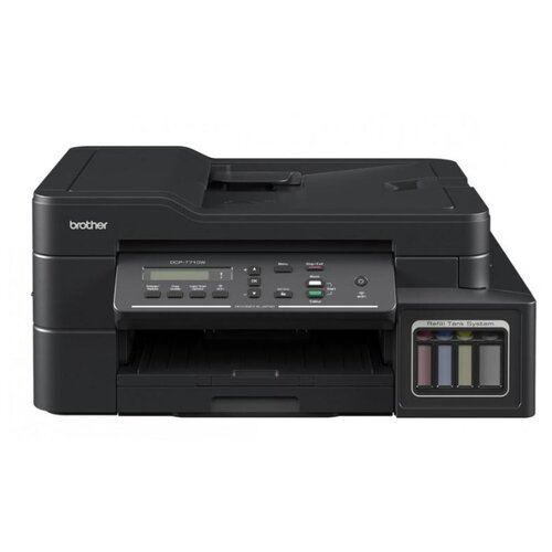Фото - МФУ Brother DCP-T710W InkBenefit Plus черный мфу brother dcp t710w ink benefit plus