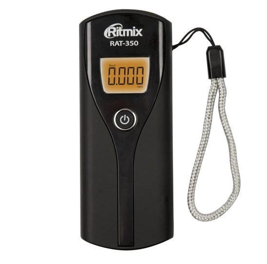 Алкотестер Ritmix RAT-350 черный