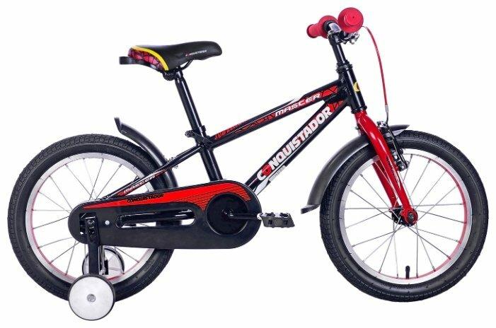 Детский велосипед Conquistador Master 16 (2016)