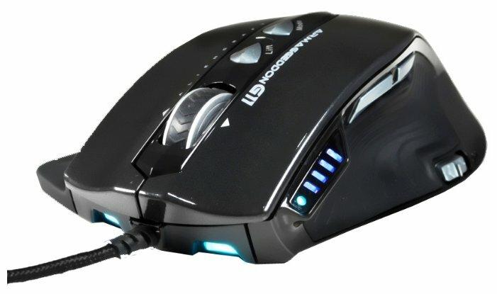 Мышь Armaggeddon Aliencraft G11 Black USB