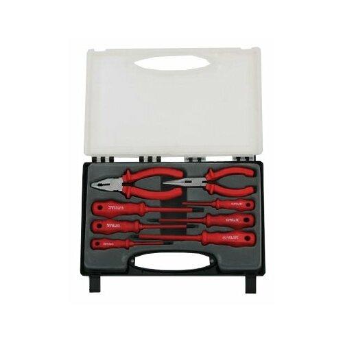 Набор инструментов ЕРМАК (8 предм.) D9965-2 красный набор коронок ермак 649 081