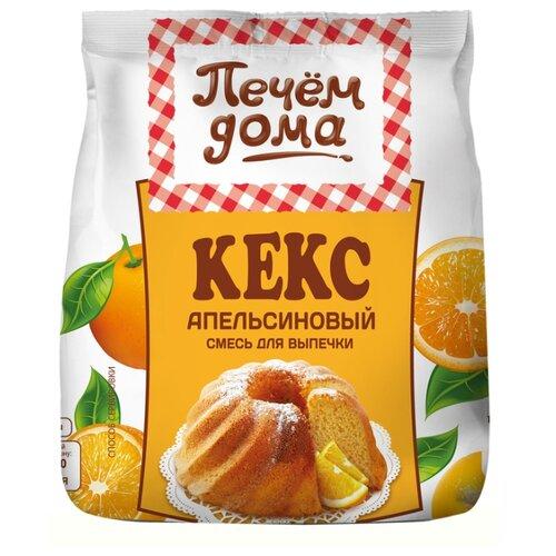 Печём Дома Смесь для выпечки Кекс апельсиновый, 0.4 кг