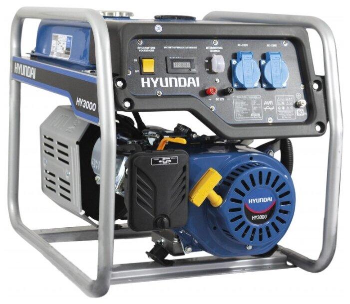Бензиновый генератор HYUNDAI HHY 3000F (ES)