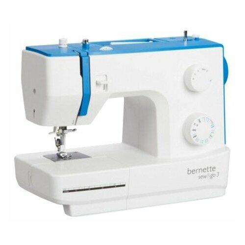 Швейная машина Bernina Bernette Sew&Go 3, бело-голубой