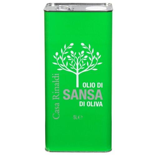 Casa Rinaldi Масло оливковое Sansa, жестяная банка 5 л casa rinaldi масло оливковое pomace sansa стеклянная бутылка 0 5 л