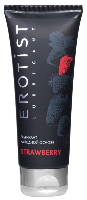 Гель-смазка Erotist Strawberry на водной основе