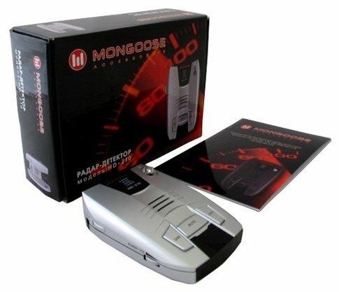 Радар-детектор Mongoose HD-210