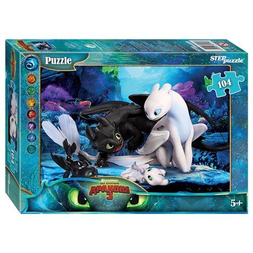 Купить Пазл Step puzzle Dreamworks Как приручить дракона - 3 (82179), 104 дет., Пазлы