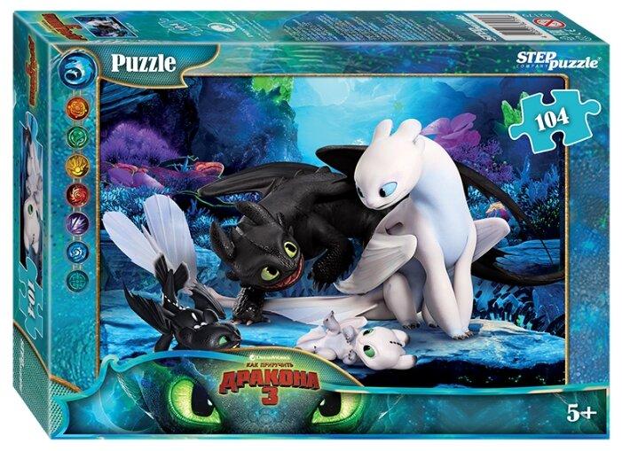Пазл Step puzzle Dreamworks Как приручить дракона - 3 (82179), 104 дет.