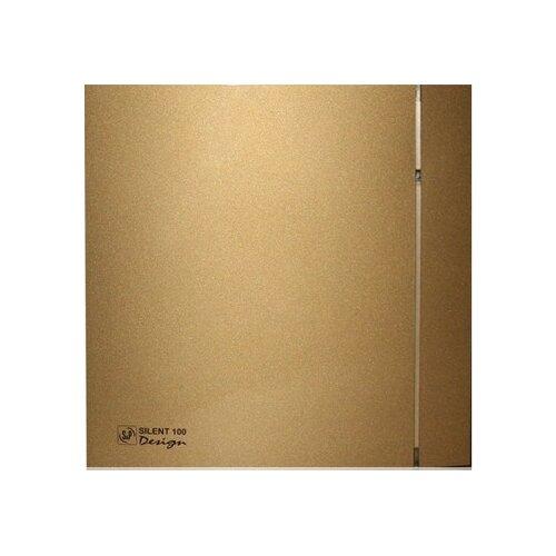 Вытяжной вентилятор Soler & Palau SILENT-100 CZ DESIGN 4C, gold 8 Вт