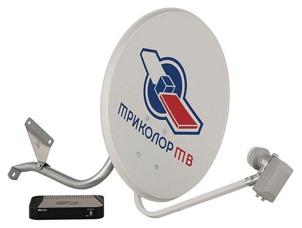 Tricolor Комплект спутникового телевидения Триколор Full HD GS B532M черный