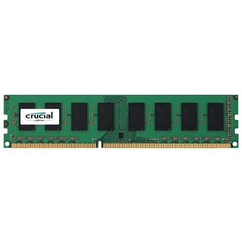 Оперативная память Crucial DDR3L 1600 (PC 12800) DIMM 240 pin, 2 ГБ 1 шт. 1.35 В, CL 11, CT25664BD160BJ