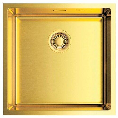 Фото - Интегрированная кухонная мойка 44 см OMOIKIRI Taki 44-U/IF-LG светлое золото кухонная мойка omoikiri taki 44 u if lg 4973520