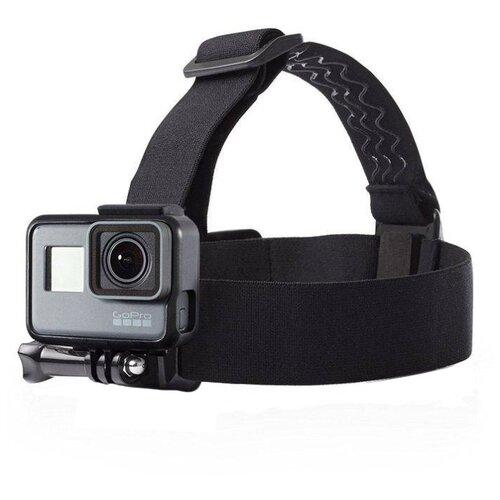 Купить Крепление на голову Flife для экшн-камер черный