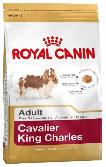 Корм для собак Royal Canin Кавалер-кинг-чарльз-спаниель для здоровья кожи и шерсти 1.5 кг