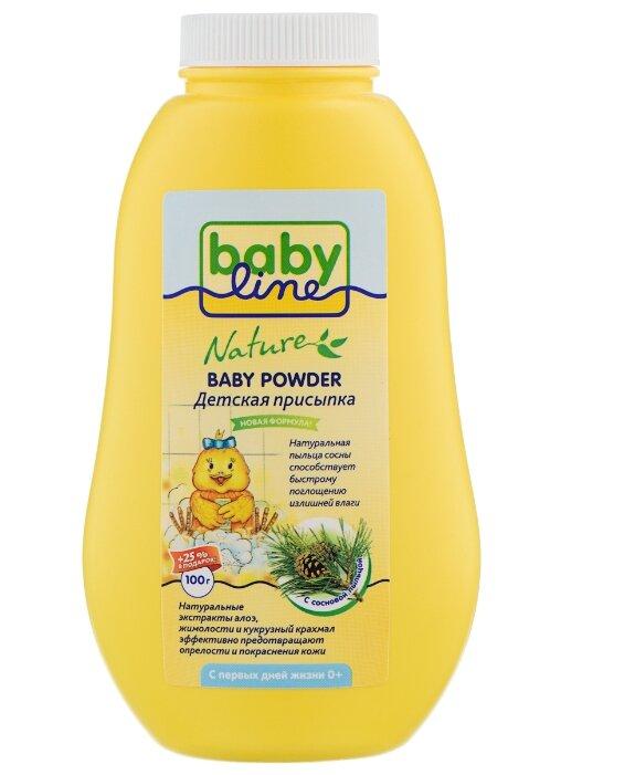 BabyLine Присыпка Nature с сосновой пыльцой