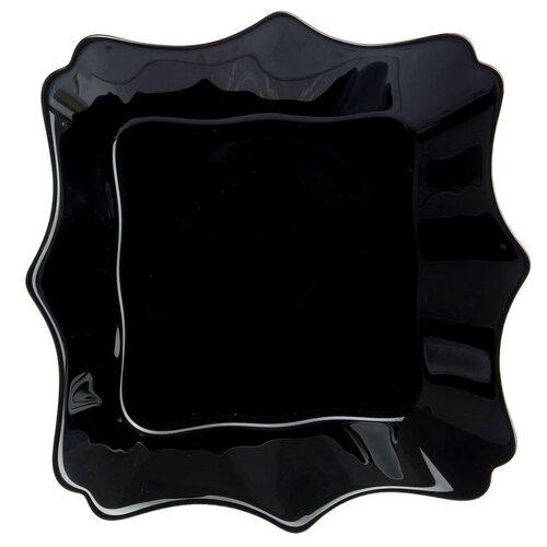 Luminarc Тарелка суповая Authentic 20х20см black