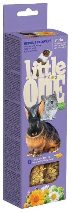 Лакомство для кроликов, грызунов Little One Sticks Herbs & Flowers