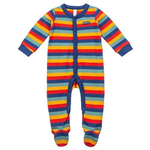 Комбинезон playToday размер 56, синий/красный/желтый комбинезон playtoday размер 56 синий красный желтый