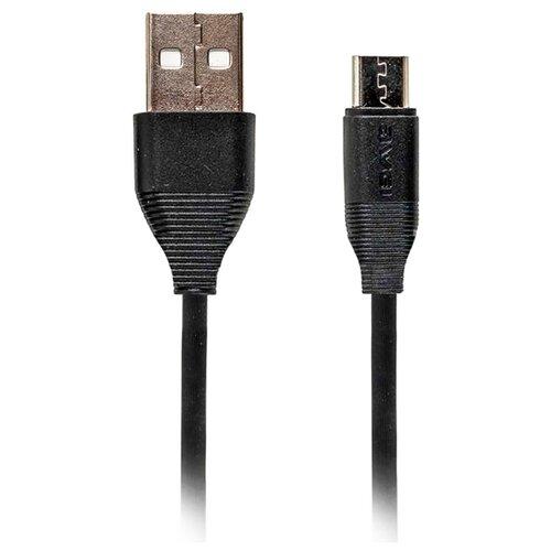 Кабель Awei USB - microUSB (CL-94) 1 м черный аксессуар awei cl 82 yellow