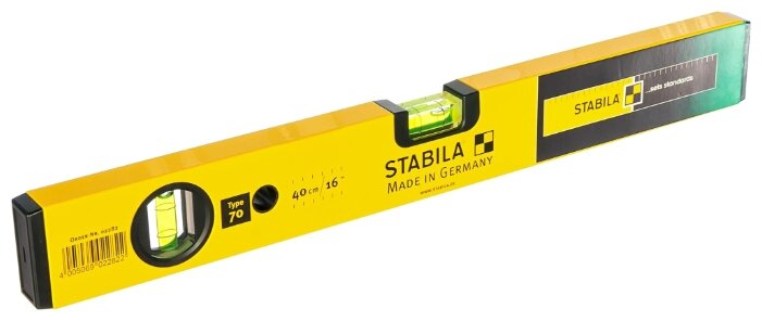 Уровень брусковый 2 глаз. Stabila Type 70 ST-02282 40 см