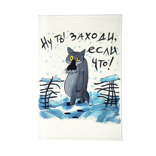 Обложка для паспорта Mitya Veselkov Волк из мультика OK180, Принт