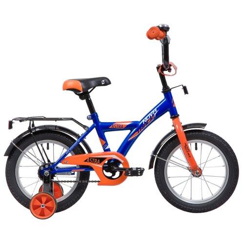 Детский велосипед Novatrack Astra 14 (2019) синий (требует финальной сборки)