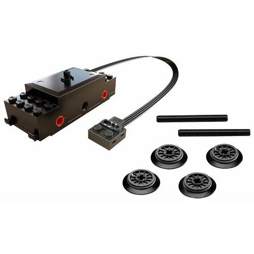 Купить Дополнительные детали LEGO Power Functions 88002 Тележка локомотива с двигателем, Конструкторы