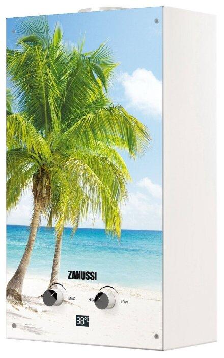 Проточный газовый водонагреватель Zanussi GWH 10 Fonte Glass Paradiso