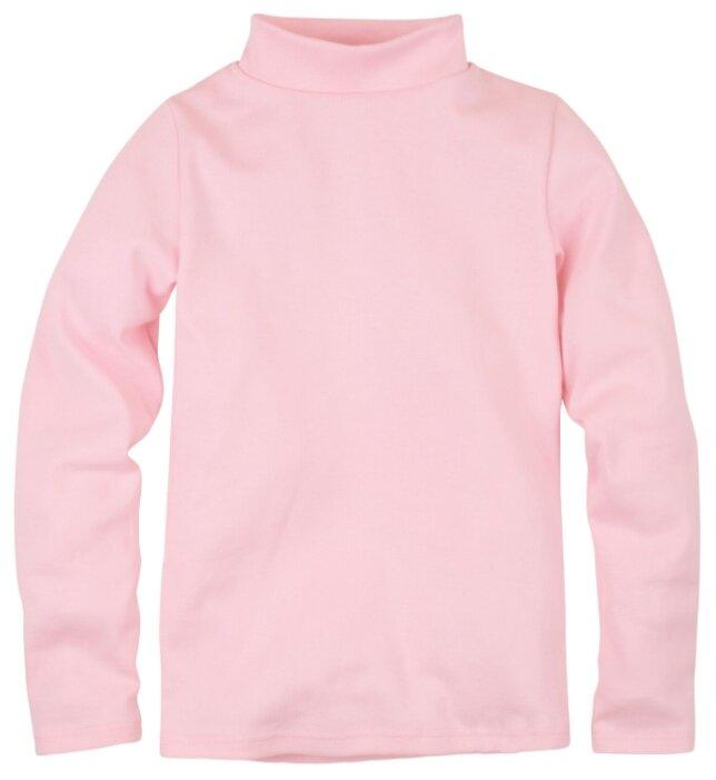 Водолазка Bossa Nova Basic, цвет: розовый, для девочек, размер 122