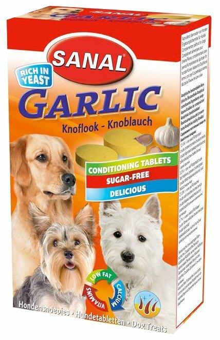 Лакомство для собак SANAL Garlic