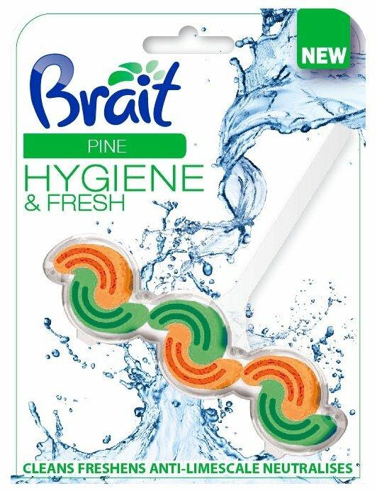 Brait туалетный блок Hygiene & Fresh Pine