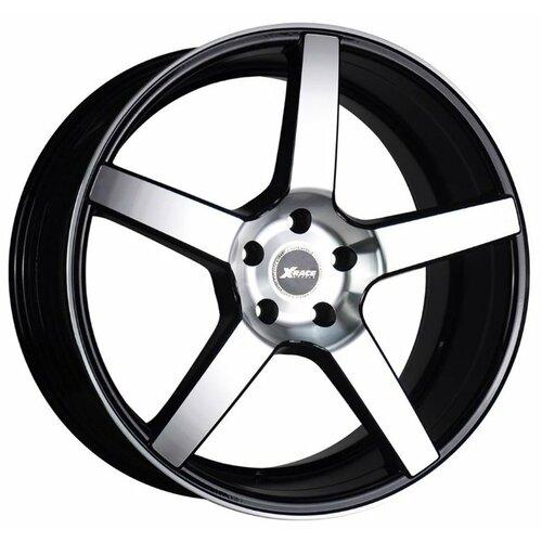 цена Колесный диск X-Race AF-07 9.5x20/5x120 D74.1 ET40 BKF онлайн в 2017 году