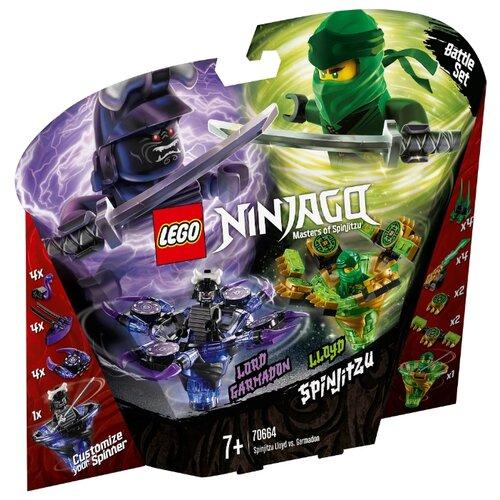 Купить Конструктор LEGO Ninjago 70664 Ллойд мастер Кружитцу против Гармадона, Конструкторы
