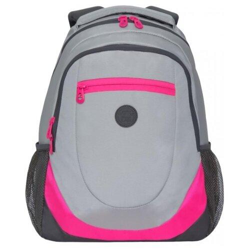 Рюкзак Grizzly RD-953-1 14 серый рюкзак городской grizzly цвет черный фуксия rd 831 2 3