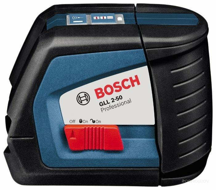 Лазерный уровень BOSCH GLL 2-50 Professional + BM 1 Professional + L-BOXX 136 + LR 2 Professional (0601063109)