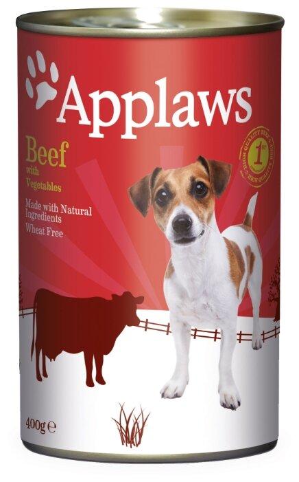 Корм для собак Applaws говядина с овощами 400г