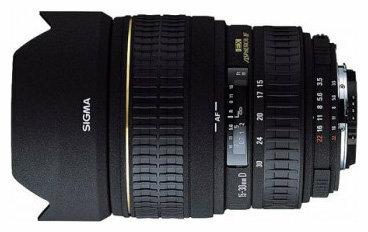 Объектив Sigma AF 15-30mm f/3.5-4.5 EX ASPHERICAL DG Sigma SA