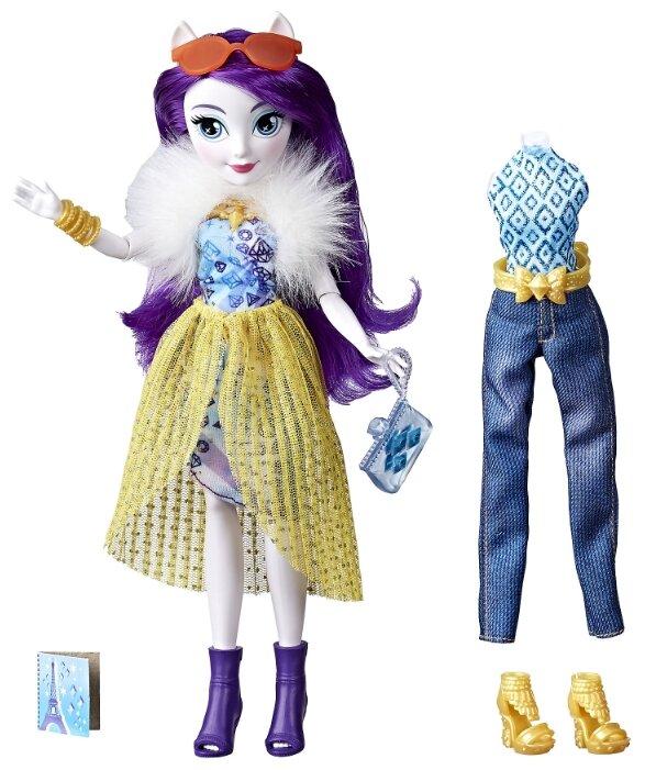 Кукла My Little Pony Equestria Girls Уникальный наряд Рарити, 29 см, E2267