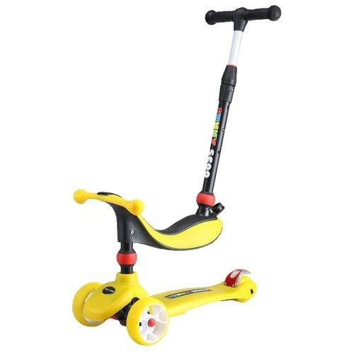 Самокат-беговел Funny Scoo MS-936 MIX Light желтыйСамокаты<br>