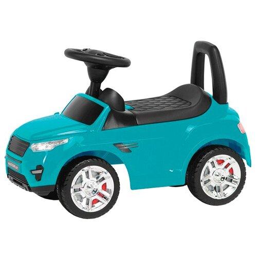 Каталка-толокар COLORPLAST 2-005 бирюзовый каталка толокар orion toys мотоцикл 2 х колесный 501 зеленый