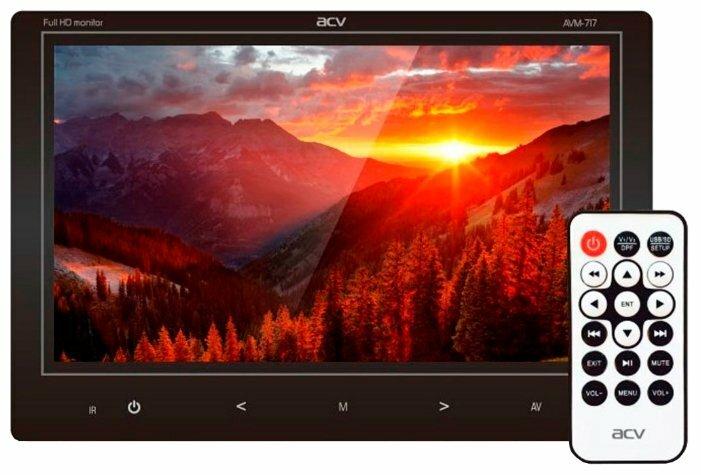Автомобильный мультимедийный телевизор VTV-1900DVB-T2