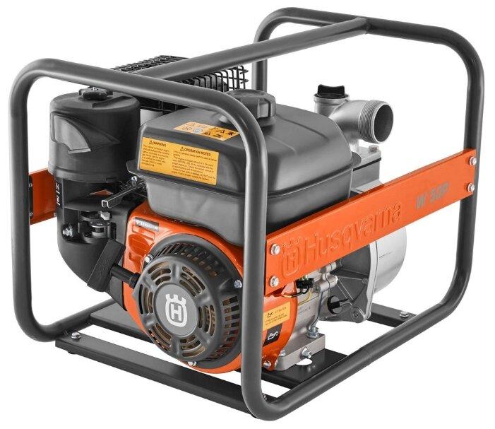 Мотопомпа бензиновая HUSQVARNA W50P для слабозагрязненной воды 9676390-02