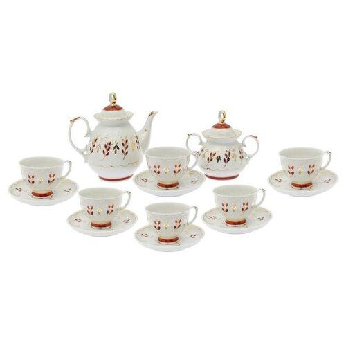 Чайный сервиз Добрушский фарфоровый завод Мария (Ритм) 14 предметовСервизы<br>