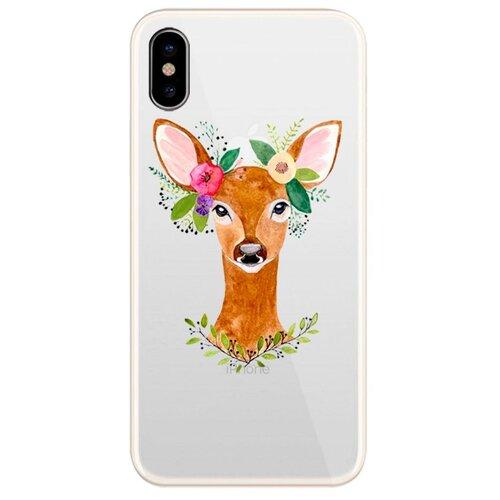 Купить Чехол UVOO U000053APP для Apple iPhone X deer