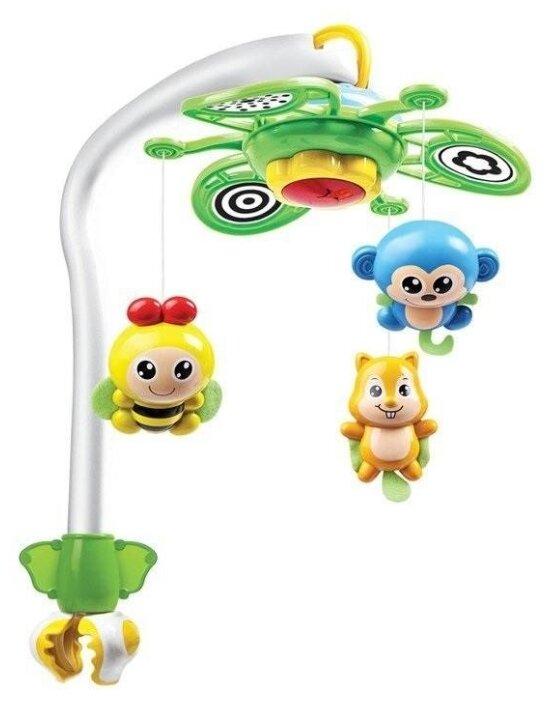 Механический мобиль Junfa toys Животные WS6806