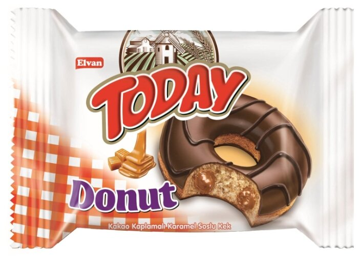 Elvan Today Donut карамель, 50 г